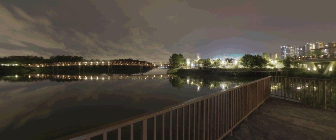 360 Panorama Night Time